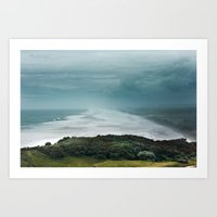 Muriwai Beach, NZ Art Print
