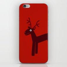 Reindeer-Red iPhone & iPod Skin