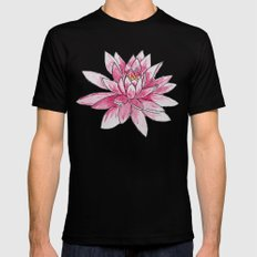 Lotus Black Mens Fitted Tee SMALL