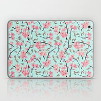 Cherry Blossom Pattern(sky) Laptop & iPad Skin