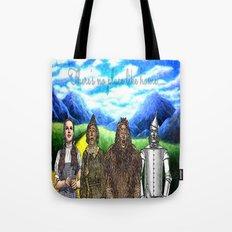 No Place Like Home Wizard Oz Art Tote Bag