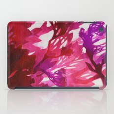 Morning Blossoms 2 - Magenta Variation iPad Case