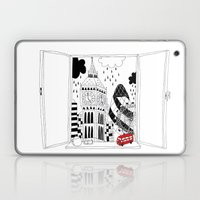 London window Laptop & iPad Skin