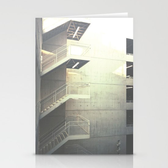 Industrial Stairs 02 Stationery Card