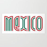 Mexico! Art Print