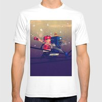 Amateurs Mens Fitted Tee White SMALL