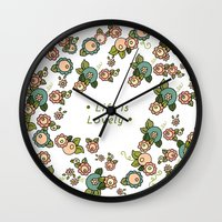 Life is Lovely Wall Clock