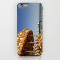 Golden Carousel at the Beach iPhone 6 Slim Case