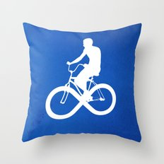 Endless Cycle Throw Pillow