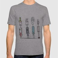 Little Monsters From My … Mens Fitted Tee Athletic Grey SMALL