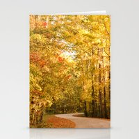 Just Around The Curve Stationery Cards