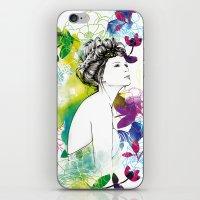 Bella Fashion Watercolor… iPhone & iPod Skin