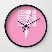 Hotline Bling AKA Chandler Bing // www.pencilmeinstationery.com Wall Clock