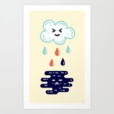 Here Comes The Rain Art Print