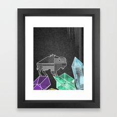 BUFF Framed Art Print