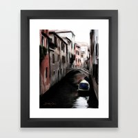 Canal #2 Framed Art Print