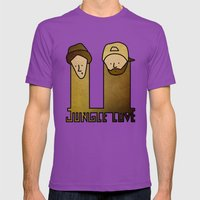 Jay and Silent Bob Strike Back (2001) Mens Fitted Tee Ultraviolet SMALL