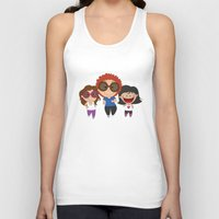 Walking with mom Unisex Tank Top