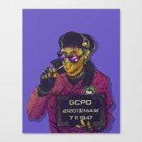 Joker Goon Canvas Print