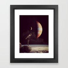A View Of  Jupiter Framed Art Print