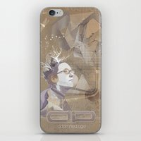 adamned.age artist poster  iPhone & iPod Skin