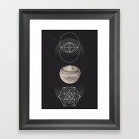 X-111 Framed Art Print