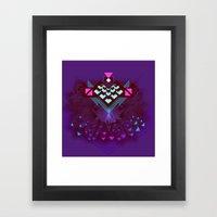 ::Space Bird:: Framed Art Print