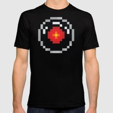 2001: A Pixel Odyssey Mens Fitted Tee Black SMALL