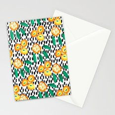 Citrus and Leaves II Stationery Cards