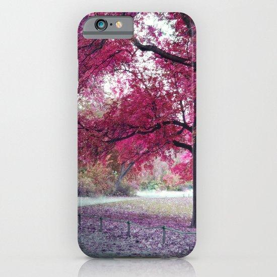 Pink Sunday iPhone & iPod Case