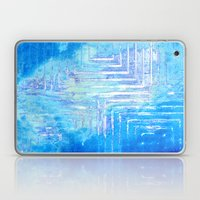 Infinitely Blue Squared Laptop & iPad Skin