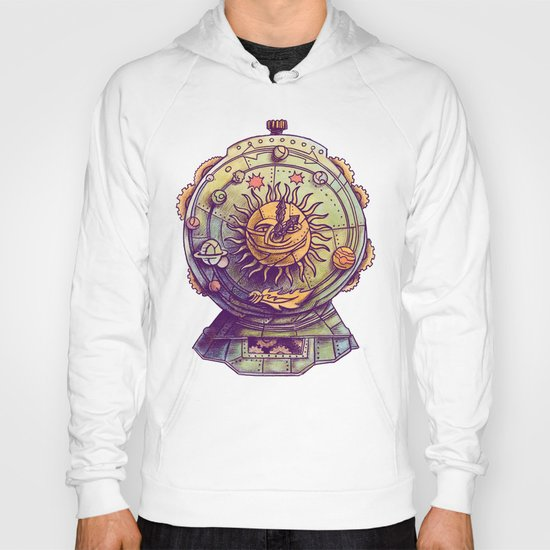 Cosmic Clock Hoody