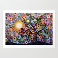 Memory Of Magic Art Print