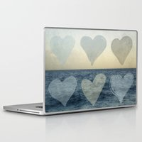 hearts Laptop & iPad Skins featuring Hearts by Pure Nature Photos