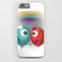 iPhone & iPod Case featuring Hello Earthling - love by Dnzsea