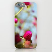 Hot Pink Puffs iPhone 6 Slim Case