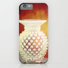 Hobnail -- Still Life with Vintage Vase Slim Case iPhone 6s