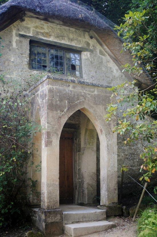The Gothic House Art Print