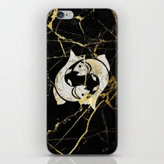 pisces in marble iPhone & iPod Skin