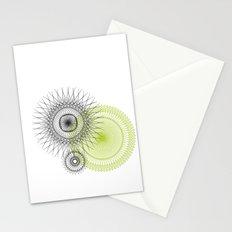 Modern Spiro Art #3 Stationery Cards