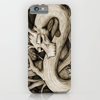 iPhone & iPod Case featuring Tree Dragon by Chump Magic