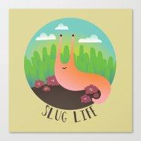 Slug Life #1 Canvas Print