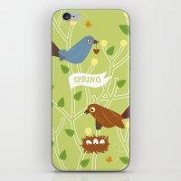4 Seasons - Spring iPhone & iPod Skin