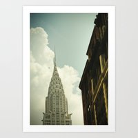 The City Of The Fighting… Art Print