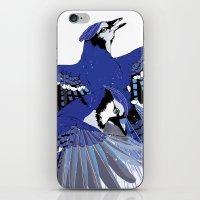 Blue Jays. iPhone & iPod Skin
