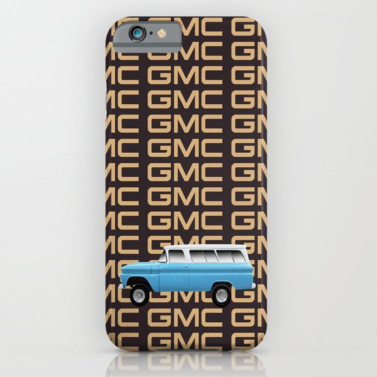 GMC trucks - Chev Suburban tribute to one of the first truck based SUV's iPhone & iPod Case