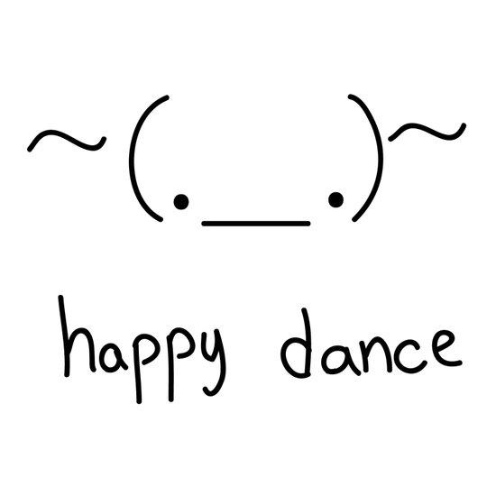 Happy Dance Art Print