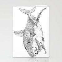 Shark Prank Stationery Cards