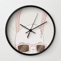 빠숑토끼 Fashiong To… Wall Clock