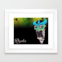 Owlin' it Framed Art Print